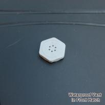 waterproof hatch vent